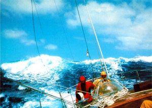 Vuelta al Mundo, 1977-78. Rompiente en popa